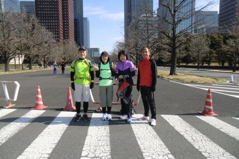 20130203東京マラソン試走2